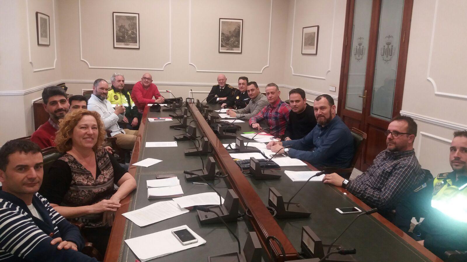 NEGOCIACIÓN DEL PROTOCOLO DE HORARIOS EN POLICÍA LOCAL