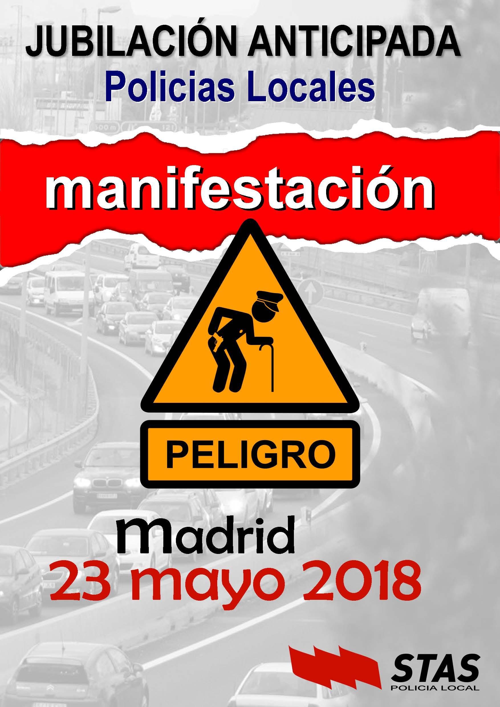 23 DE MAYO, JUBILACIÓN ANTICIPADA POLICÍA LOCAL